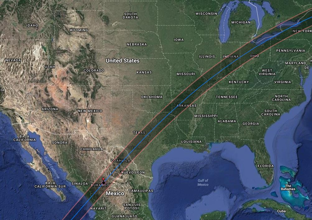 2024 Solar Eclipse Mexico and USA tours Astro-Eclipse
